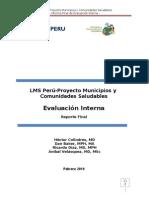 MSH Informe Final MCS Evaluación Interna_2010
