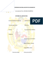 Informe de Electrólisis 2012