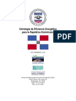 USAID, Estrategia de Eficiencia Energetica Para La República Dominicana, 11-2004