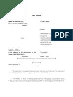Heirs of Diaz v. Virata 498 SCRA 141 (2006)