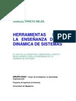 HERRAMIENTAS PARA LA ENSEÑANZA DE LA DINÁMICA DE SISTEMAS