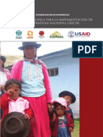 USAID Sistematización_EN_CRECER_2009