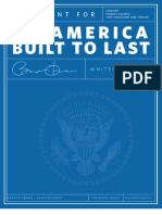 Blueprint for an America Built to Last