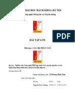 Báo cáo bài tập lớn hệ phân tán trang web quản lý thư viện