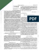 Real Decreto 407/1992, de 14 de abril el que se aprueba la Norma Básica de Protección Civil