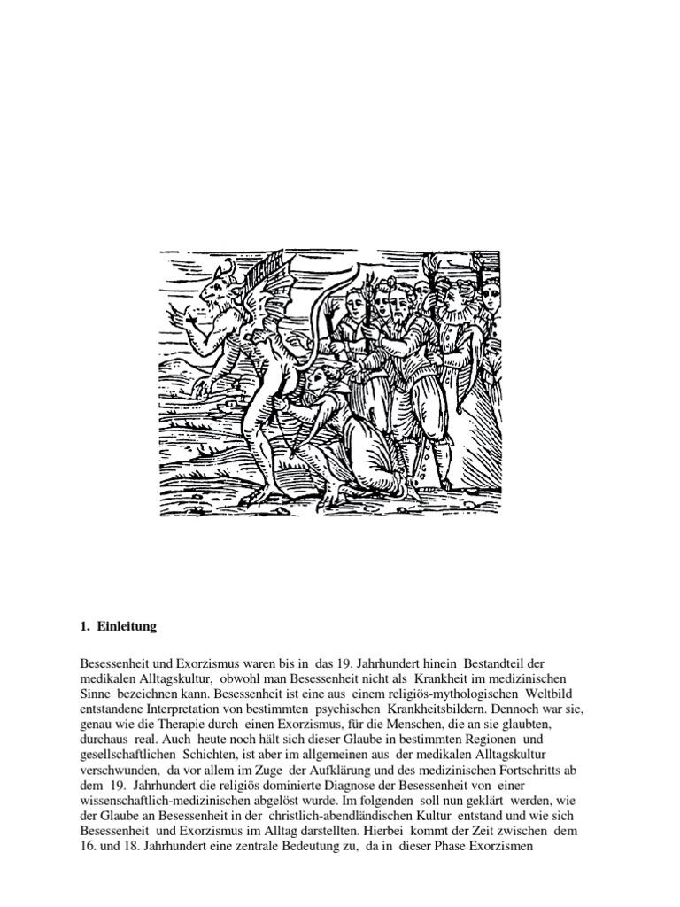 Exorzismus Text