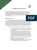 Fetal Hemoglobin Essay