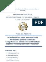 Perfil Del Proyecto - Produccion Multimedia