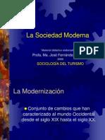 Sociologia Del Turismo La Sociedad Moderna, 2009