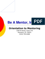 Mentor Training Powerpoint