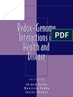 Redox-Genome Interactions in Health and Disease
