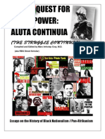 The RBG Quest for Black Power Reader Aluta Continua a Frolinan Primer by RBG Street Scholar