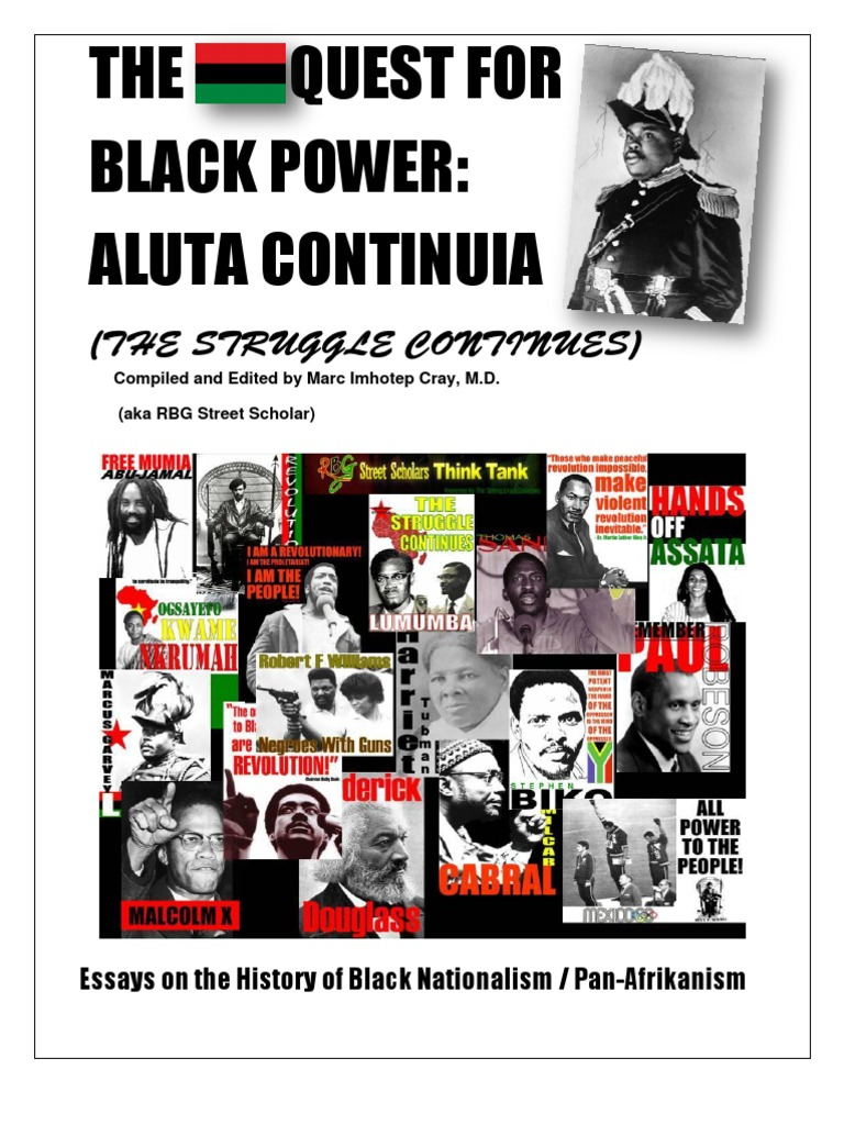 The Rbg Quest For Black Power Reader Aluta Continua A Frolinan
