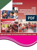 Guia Metodologica Sistematizacion