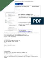 Re- Selbstverwaltung Freie Energiegeladenheit Der Karin Regorsek - Pressemitteilung Im Internet - News4Press.com - 17. Mai 2012