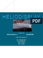 Heliodisplay Ppt by Sri