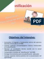 Planificacion educacional_Intensivo CreSer 2012