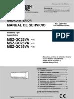 Manual Tecnico Msz Gc 25va