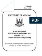 ME Electronics Mumbai University