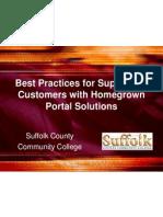 Portal Best Practices - Educause 2005
