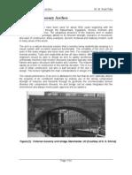 Design of Mansonry Arches