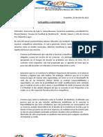 Carta publica problema adventistas UCN