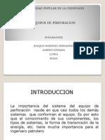 Presentacion de Equipos de Perforacion