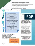 Newsletter April 2012