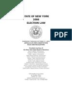 2008 Ny Election Law