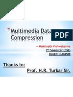 Multimedia Compression ( Lossy Compression)
