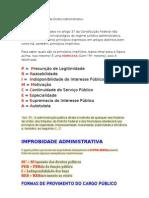 Princípios Implícitos de Direito Administrativo