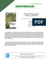 Aloe Vera (Sábila)