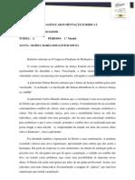Relatório referente ao I Congresso Paraibano de Mediação e Arbitragem