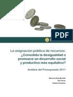 Asignacion Publica de Recursos
