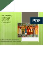 providing services across cultures