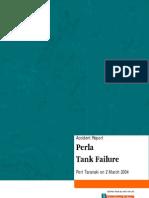 Accident Report Perla Tank Failure
