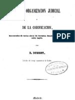 26871498 Bentham Jeremy de La Organizacion Judicial y de La Codificacion 1845