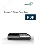 SEAGATE FreeAgent Theater Plus - Users Guide