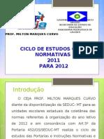 Slide Normativas.2011 2012 1