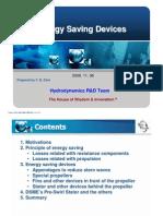 2008.11 DSME Ship Energy Saving Devices