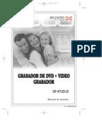 Manual Grbador Daewoo