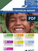 Manabí resumen Censo Población y Vivienda 2010