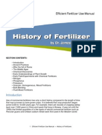 History of Fertilizers