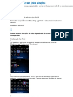 Guia de configurações do aplicativo App World