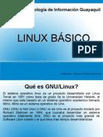 Capacitación Linux básico