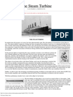 steam Turbine History