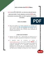 VENTAS POR INTERNET POLÍTICAS LARVA ROMA
