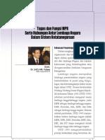 Tugas Dan Fungsi Mpr Serta Hubungan Antar Lembaga Negara Dalam Sistem Ketatanegaraan 1318393988