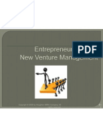 Entrepreneurship and New Venture