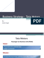 Business Strategy – Tata Motors - Ankit Singh